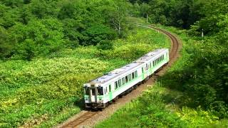 【HD】函館本線(山線)ニセコ~昆布間 キハ150形普通列車