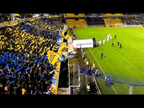 """""""Rosario,Central vs Gremio 2016 - partido de vuelta"""" Barra: Los Guerreros • Club: Rosario Central • País: Argentina"""