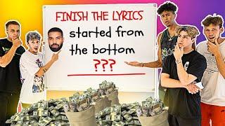 Finish the Lyrics, Win $5,000 (ft. YouTubers)