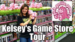 Tour of Kelsey's Pink Gorilla game store in Seattle!