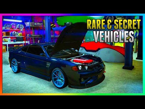 GTA 5 Online - FREE RARE CARS Locations 1.43: SECRET HIDDEN RARE CARS! (GTA 5 Best Rare Cars Online)