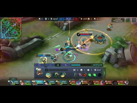 Mobile legends__Diggie + Angela combo