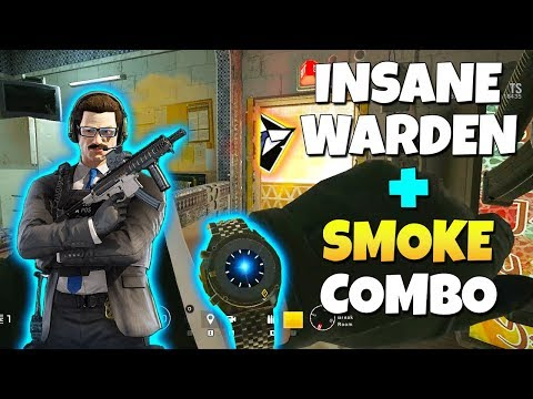We RUINED Rainbow Six Siege With This Warden & Smoke