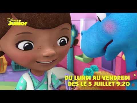 Docteur La Peluche - Dès le 5 juillet, du lundi au vendredi à 9h20 sur Disney Junior !