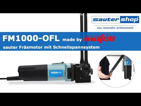 FM1000-OFL | sauter Fräsmotor