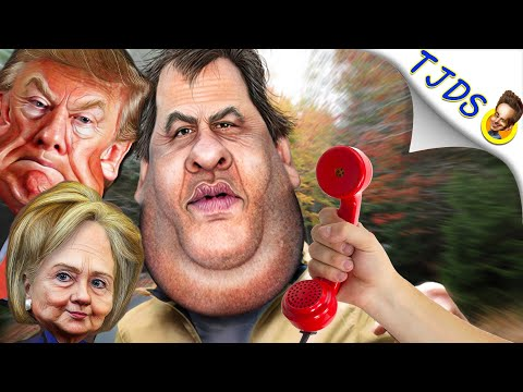 Trump's Debate Preparation with Chris Christie!