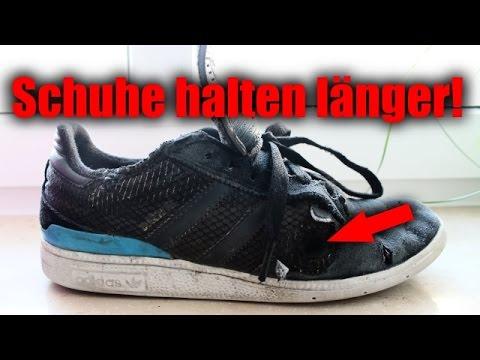 So halten deine Schuhe ewig!