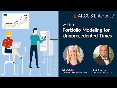 ARGUS Enterprise   Webinar : Portfolio Modeling and Analysis ...