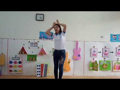 VĐMH bài hát Chú Thỏ con   lớp MG 4   5T   GV Đặng Thị Hữu   Trường MN Xuân Phú