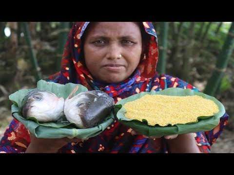 Delicious Bengali Muri Ghonto Recipe Traditional Cooking Rui Macher Muri Ghonto Curry Village Food