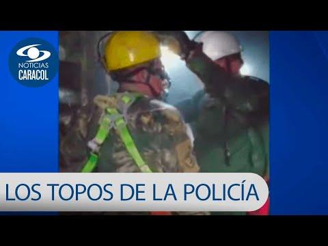 Asi actuan Los Topos, grupo especial de la Policia que combate el robo de oro   Noticias Caracol