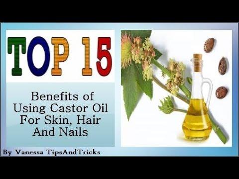 Nail Treatments Castor oil - Pamahid laban sa fungi sa ari ng lalaki