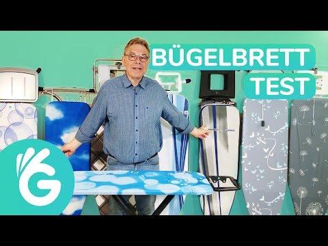 Bügelbrett Test – 8 Bügelbretter im Vergleich