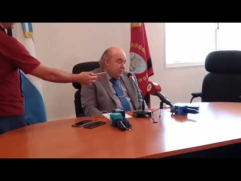 Video: Conferencia de Prensa Dr. Abel Cornejo
