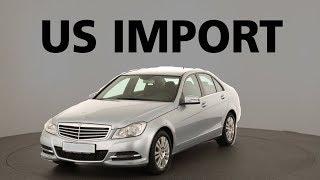 Mercedes US Import USA I Mercedes Höchstgeschwindigkeit 210 kmh I Mercedes C-Klasse W204