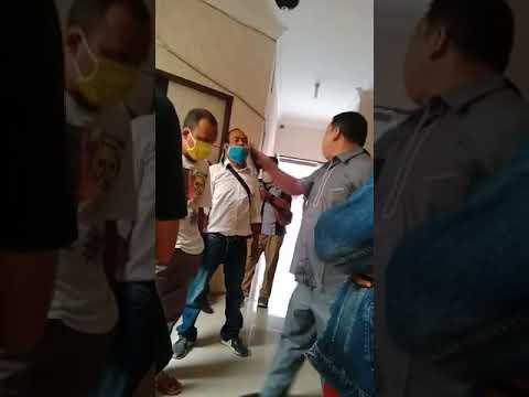Anggota DPRD Rohul Ngamuk Diberi Sembako Isi 3 Sendok Beras dan Tiga Butir Telur Puyuh