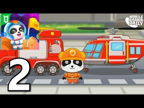 Baby Panda's Brave Jobs - Games for kids! Gameplay Walkthrough Part 2 (iOS Android)