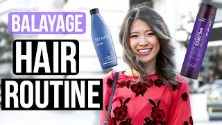 My Salon Hair Routine + Balayage Ombre Hair Tips 2016!
