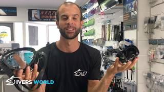 Choose your diving mask - Technisub Micro vs  Salvimar Fluyd vs  Cressi Calibro vs  Cressi Evo