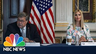 Ivanka Trump, AG Barr Discuss Housing Plan For Survivors Of Human Trafficking | NBC News NOW