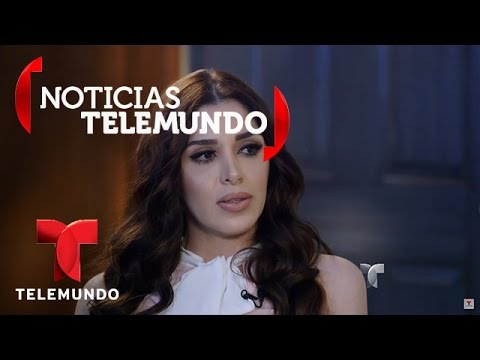 La esposa de 'El Chapo', Emma Coronel, habla con Telemundo 2/5   Noticias   Noticias Telemundo