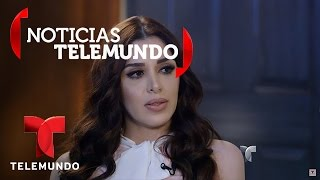La esposa de 'El Chapo', Emma Coronel, habla con Telemundo 2/5 | Noticias | Noticias Telemundo