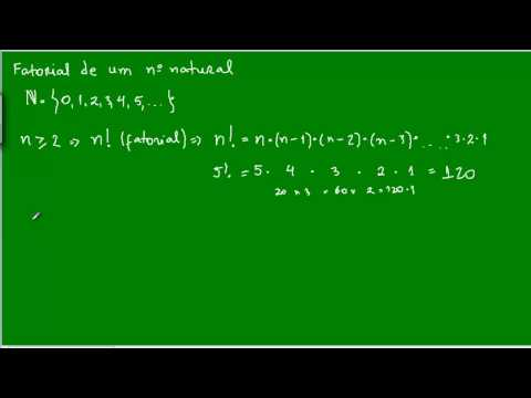 Fatorial de um número natural