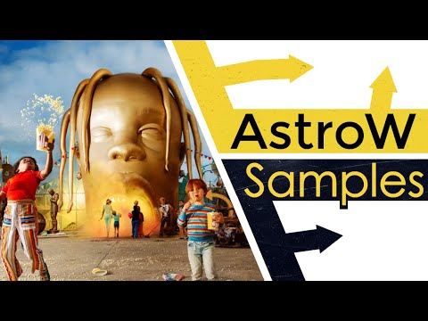 Every Sample From Travis Scott's ASTROWORLD