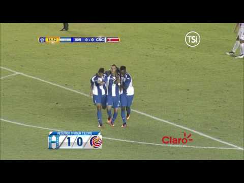 1-0 Gol de Erick Andino (Honduras vs Costa Rica)