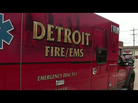 Detroit Fire Department medic attacked on the job