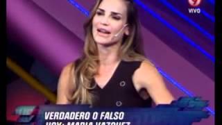 DURO DE DOMAR - VERDADERO O FALSO - MARIA VAZQUEZ - PRIMERA PARTE 1-06-12