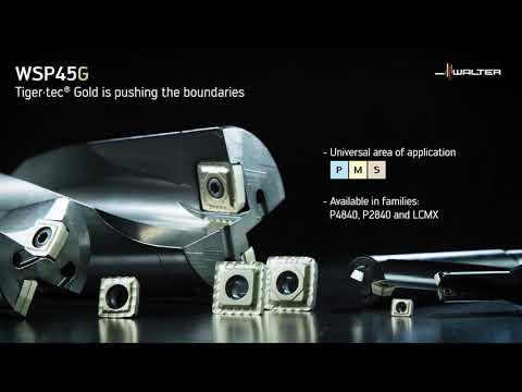 WALTER DRILLING GRADE WSP45G - Tiger·tec® Gold is pushing the boundaries
