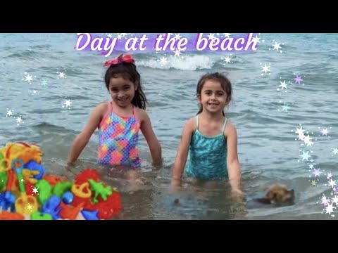 Day Playing at The Beach - For Kids by Madison and Madelyn