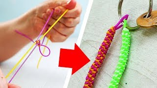 DIY Keychains For Beginners | Friendship Pins | Friendship Bracelets | Craft Factory