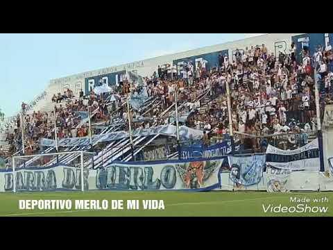 """""""Deportivo Merlo, tiene la mejor hinchada que no abandona aunque estes mal"""" Barra: La Banda del Parque • Club: Deportivo Merlo"""