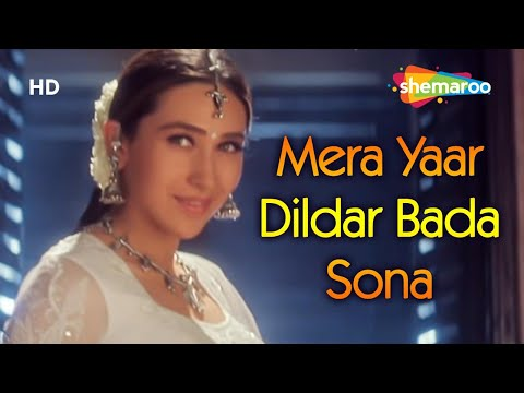 Mera Yaar Dildar Bada Sona | Jaanwar | Akshay Kumar | Karisma Kapoor | Sukhwinder Singh |Gold songs