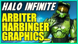 Arbiter Returns in Halo Infinite and Who is the Harbinger? Halo Infinite Graphics Greatly Improved?