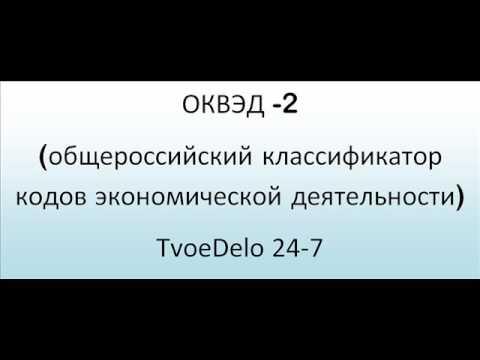 ОКВЭД -2 / TvoeDelo 24-7