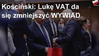 Kościński: Lukę VAT da się zmniejszyć