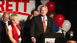 Barrett Announces Run For Governor