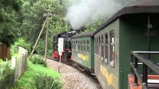 preview picture of video 'Lößnitzgrundbahn - Moritzburg - Radebeul Ost'