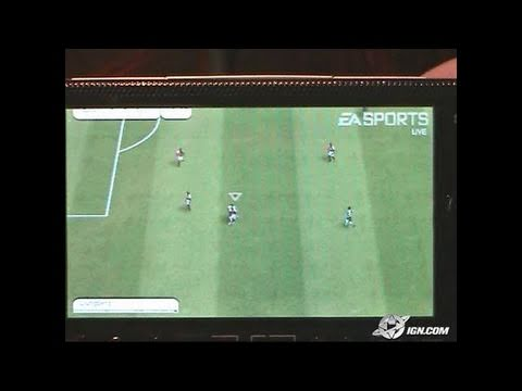 FIFA Soccer Sony PSP Gameplay - CES 2005 Footage (*No audio)