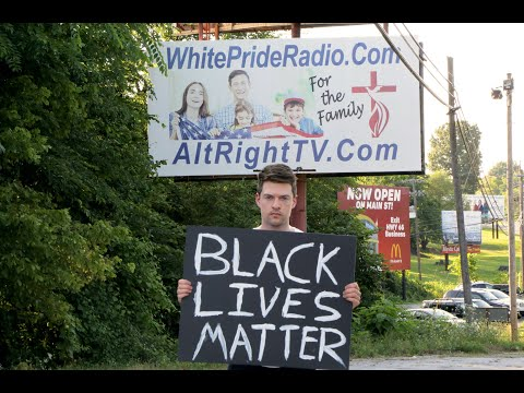 SMH: Holding a Black Lives Matter Sign in America's Most Racist Town