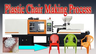 Plastic Chair Making Process by Injection Molding Machine II Plastic Molding Process