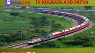 Get Domestic Hi-tech Train Ambulance Service in Kolkata and Patna by Me
