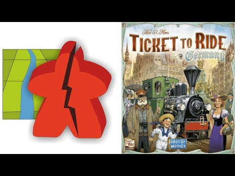 The Broken Meeple - Ticket To Ride: Germany Review