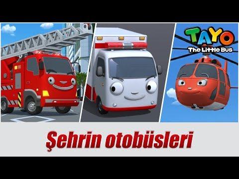 Tayo'nun arkadaşları ile tanışın l Kurtarma ekibi l KÜÇÜK OTOBÜS TAYO Türkçe