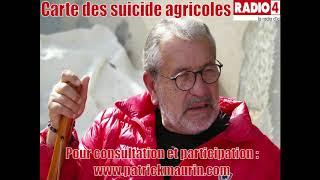 Radio 4 – Interview du 03/10/2019 – Carte des suicides agricoles