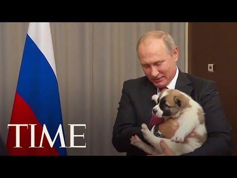 Putin en de pup