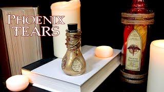 Phoenix Tears : Harry Potter Potions : DIY Prop Bottle : Healing : Prop Potion Bottle : Dumbledore
